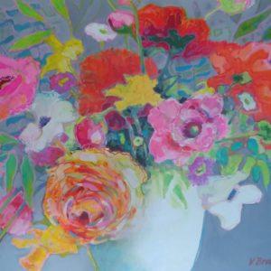 """24'"""" x 20"""" Acrylic on canvas"""